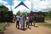 Adolescents Visit Mikute Youth Club